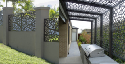 Laser Cut Decorative Fences