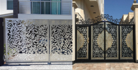Laser Cut Decorative Gates