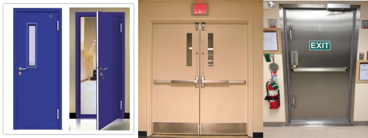 Fire Rated Steel Doors