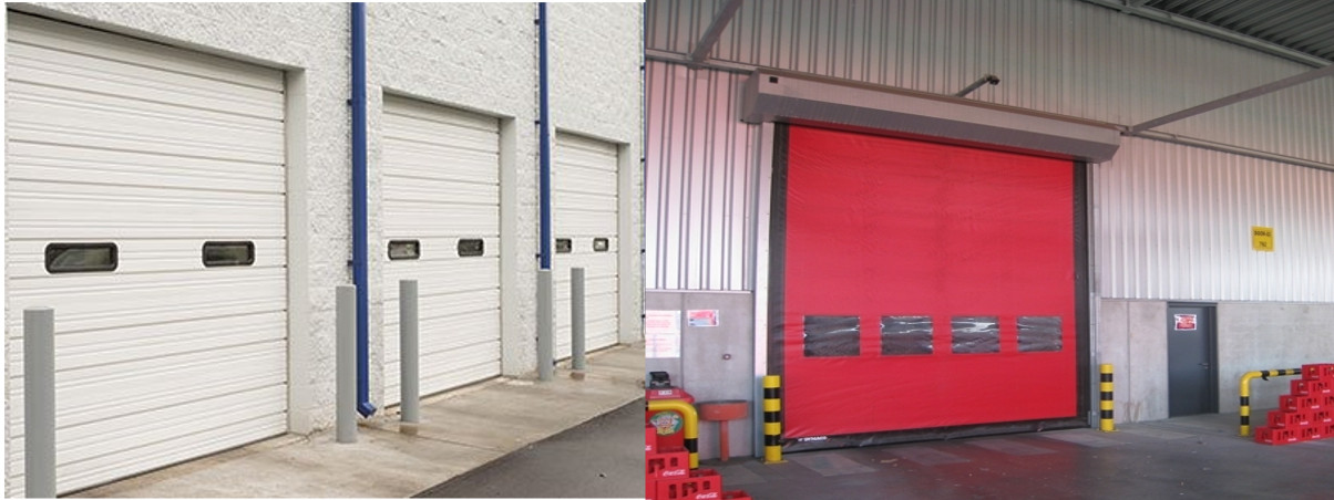 Industrial Roll Up Doors  and High Speed PVC Doors