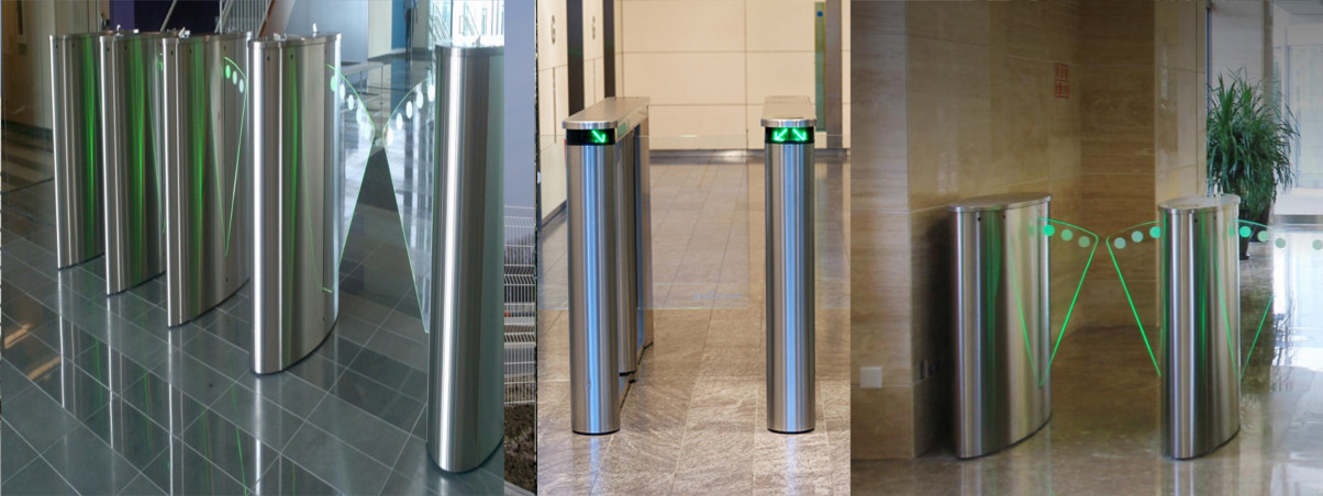 Speed Lane Security Turnstiles